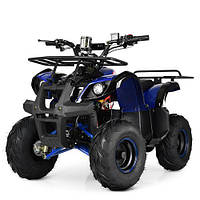 Детский Квадроцикл HB-EATV 1000D-4 (МР3) синий, фото 1