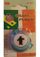 Дырокол фигурный для детского творчества CD-99XS №158 Пингвин