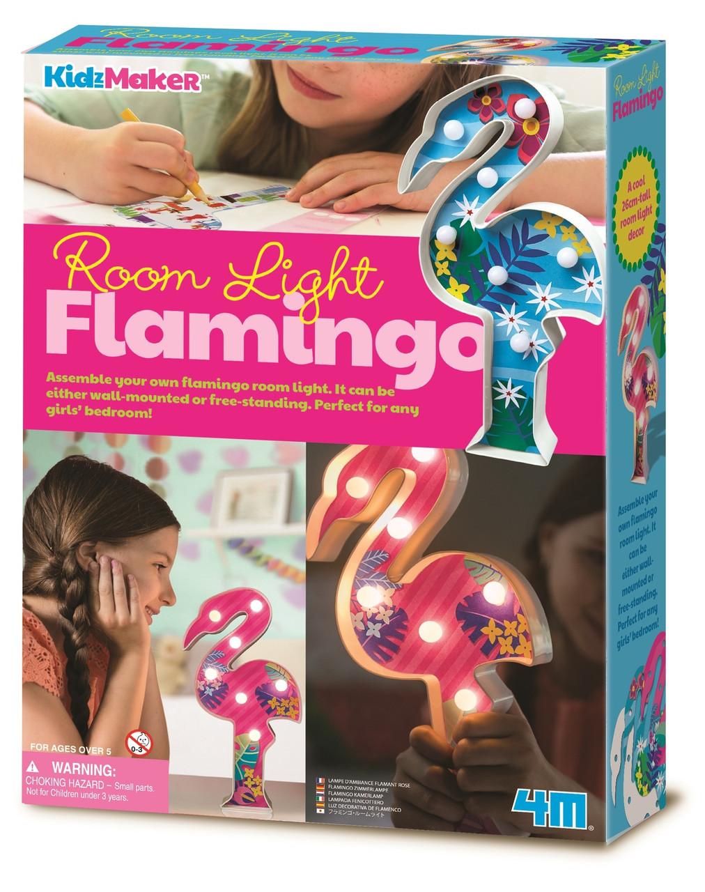 Набор для творчества Подсветка Фламинго 4M (00-04743)