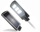 Led светильник 30W на солнечной батарее с датчиком движения. Светодиодный фонарь на столб, фото 3