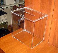 Ящик для анкет 300х200х300 врезной замок