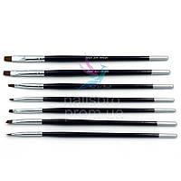 Набор кистей для маникюра Nail Art Brush 7 шт