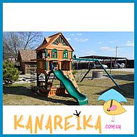 Детские спортивные деревянные комплексы для улицы КУБ-3