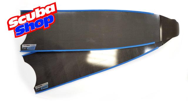 Лопасти Leaderfins Stereoblades Waves CARBON (сэндвич карбон) жесткость Hard