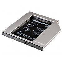 Фрейм-переходник Grand-X HDD 2.5'' to notebook 9.5 mm ODD SATA/mSATA (HDC-24N)