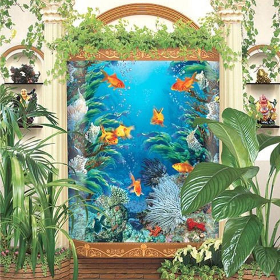 Фотообои, Золотые рыбки, 15 листов, 207х242см