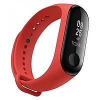 "Ремешок на фитнес браслет ""Xiaomi"" Mi Band 3/4 M3/М4 Red"