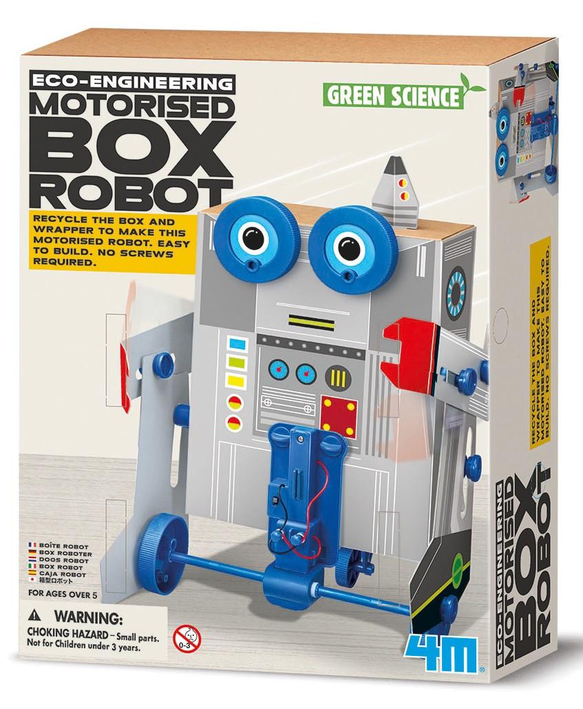 Набор для опытов Робот из коробок 4M (00-03389)