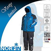 Демисезонный мужской костюм Norfin Verity Limited Edition Blue + фирменная шапка Carp Zoom, фото 1