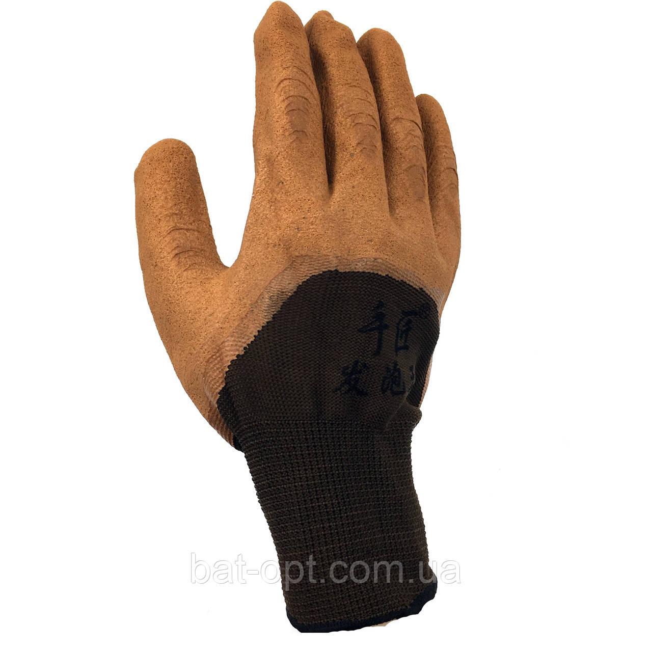 Перчатки рабочие 730 стрейч со вспененным полиуретановым покрытием