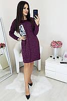 Платье туника женская - мод. 019 р. 42-46, фото 1
