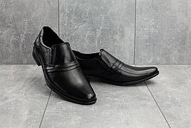 Туфли мужские Belvas 189 черные (натуральная кожа, весна/осень)