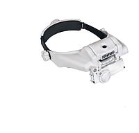 Лупа бинокулярная Magnifier MG81000SC 3,5Х с подсветкой