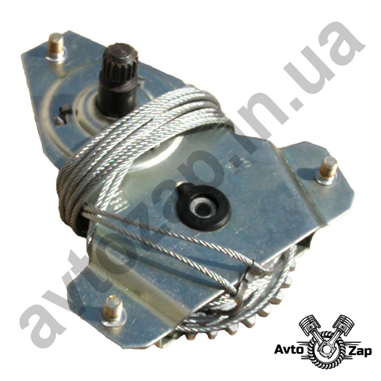 Стеклоподъемник  ВАЗ 2106 перед. тросового типа под электропривод (механизм).   03014