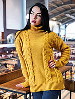 Удлиненный свитер с горлом Монако, фото 1
