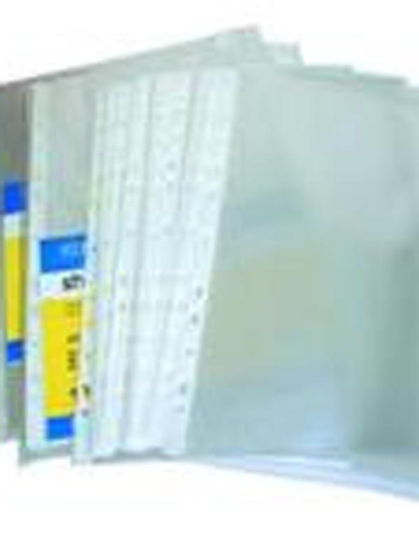 Файл А5 Е31105-50 (40мкм) 100шт Economix