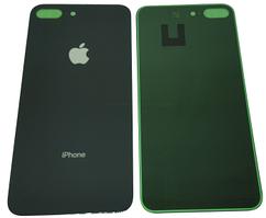 Стекло задней крышки для Apple iPhone 8 Plus, черное Orig