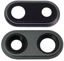 Стекло (окошко камеры) для Apple iPhone 8 Plus, черное