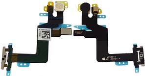 Шлейф з кнопкою включення, спалахом і мікрофоном для iPhone 6S Plus