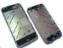 Средняя часть корпуса iPhone 4 Silver (Middle part) пустая