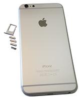 Задняя крышка для iPhone 6 Plus, серебро