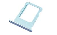 Держатель SIM-карты iPhone (Nano sim tray) 5S white
