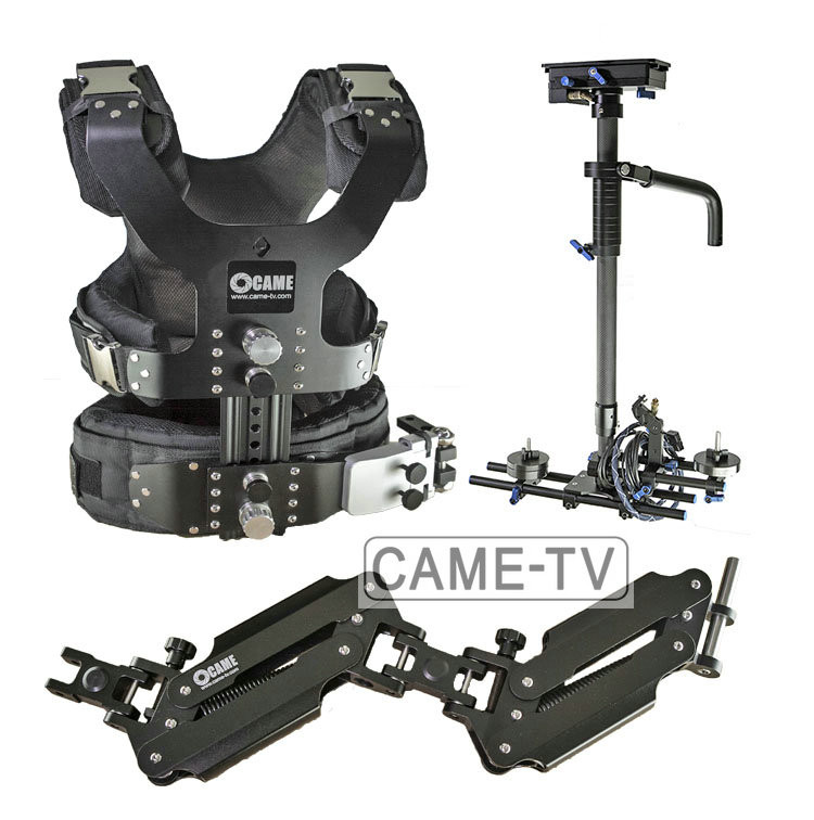 Жилет рука и стедикам CAME-TV 2.5-15kg Pro Camera Steadicam Video Carbon Stabilizers