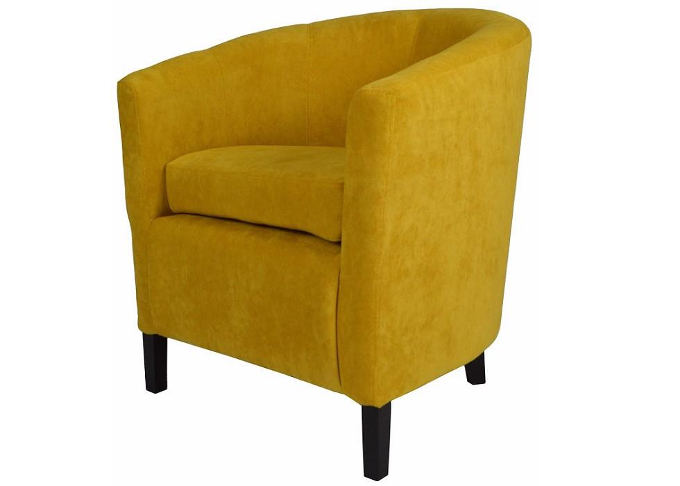 Кресло Бафи желтое Rich