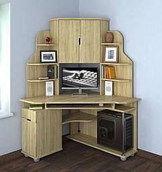 Угловой компьютерный стол Форум от Летро (12 вариантов цветов)