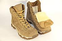 Взуття тактичне зимове армійське з натуральної шкіри та хутра берци зимові -  енерджі