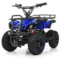 Двухместный Детский электро-квадроцикл Profi HB-EATV 800N-4 Синий