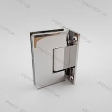 Петля для душевых кабин HDL-301 полированный хром