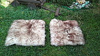 Накидка на стул из овчины муфлона