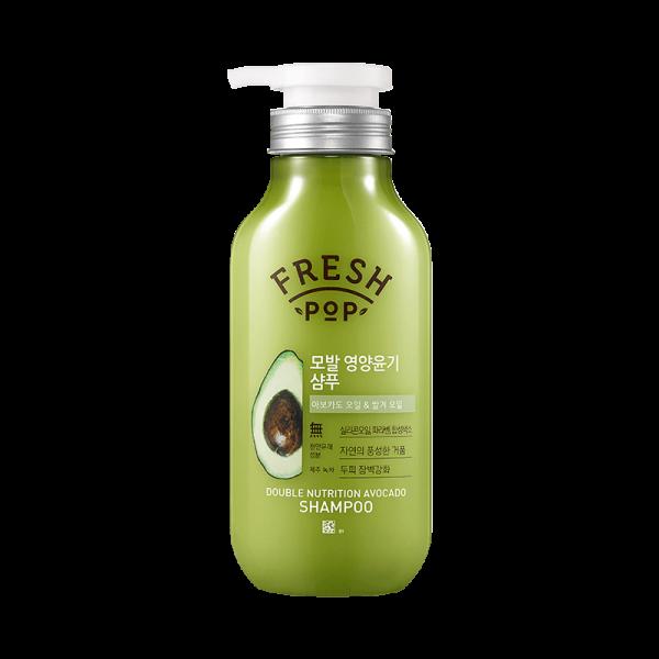 Питательный шампунь для восстановления волосFresh Pop Double Nutrition Avocado 500 мл (369659)