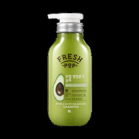 Питательный шампунь для восстановления волосFresh Pop Double Nutrition Avocado 500 мл (369659), фото 2