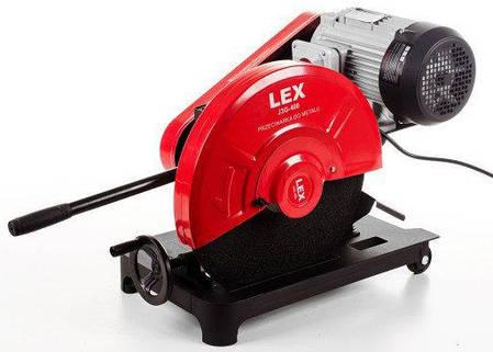 Монтажная пила LEX J3G-400/ 220В/ 4000Вт Ременная передача, фото 2