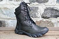 Взуття тактичне берци зимові з натуральної шкіри та хутра Спринт зима 2