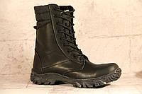 Взуття тактичне берци зимові з натуральної шкіри та хутра Спринт зима