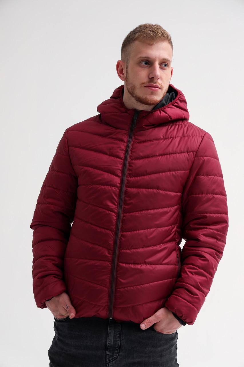Мужская демисезонная куртка с капюшоном (S, M, L, XL размеры)