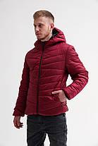 Мужская демисезонная куртка с капюшоном (S, M, L, XL размеры), фото 3