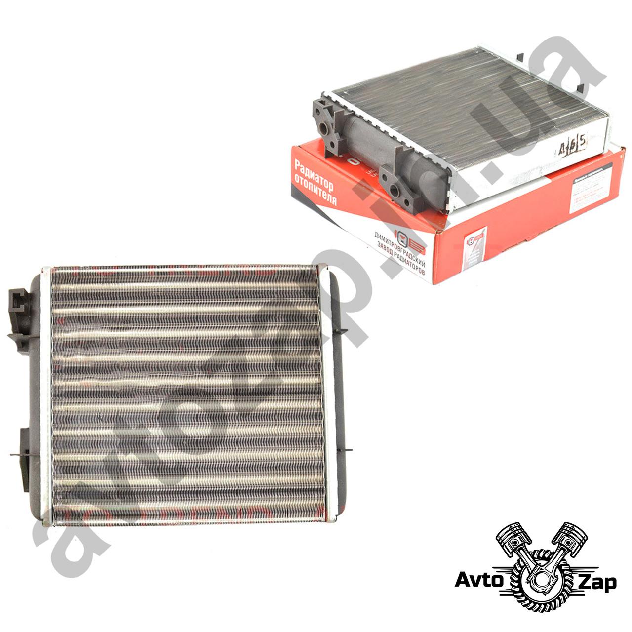 Радиатор отопителя ВАЗ 2104,2105,2107, алюм.    00807