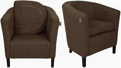 Кресло Бафи коричневое - картинка