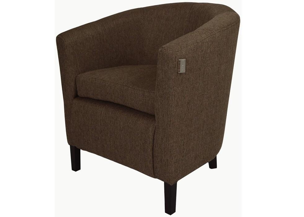 Кресло Бафи коричневое Rich
