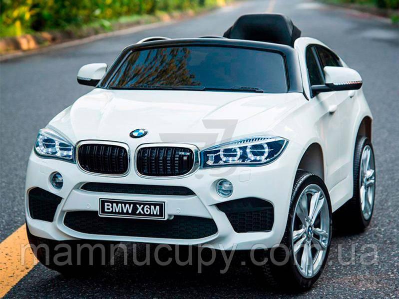 Детский электромобиль BMW X6M JJ2199 White