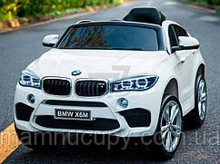 Дитячий електромобіль BMW X6M JJ2199 White