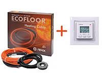 Кабель нагревательный Fenix ADSV18 830w в комплекте c программируемым терморегулятором VEGA LTC 070 (KIT8808)