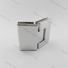 Петля душевая 135 градусов HDL-302 полированный хром