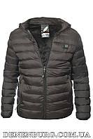 """Куртка мужская демисезонная с подогревом от """"Power bank"""" VEERRM 19-V98910 чёрная, фото 1"""