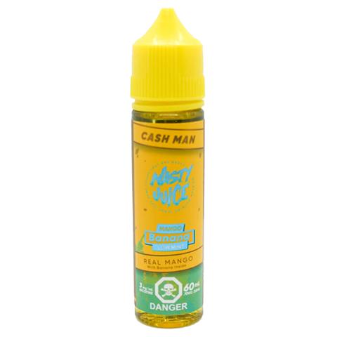 Премиум жидкость Cash Man – Mango Banana (Low Mint) by Nasty Juice 60 ml