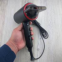 Фен для волос Gemei GM-1759 со складной ручкой для укладки с холодным обдувом дорожный